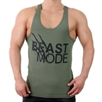 Supplementler.Com Beast Mode Fitness Atleti Yeşil