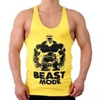 Supplementler.Com Beast Mode Hlk Fitness Atleti Sarı