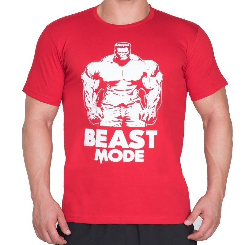 Supplementler.com Beast Mode HLK T-Shirt Kırmızı