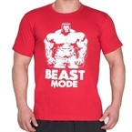 Supplementler.com Beast Mode HLK T-Shirt Kırmızı