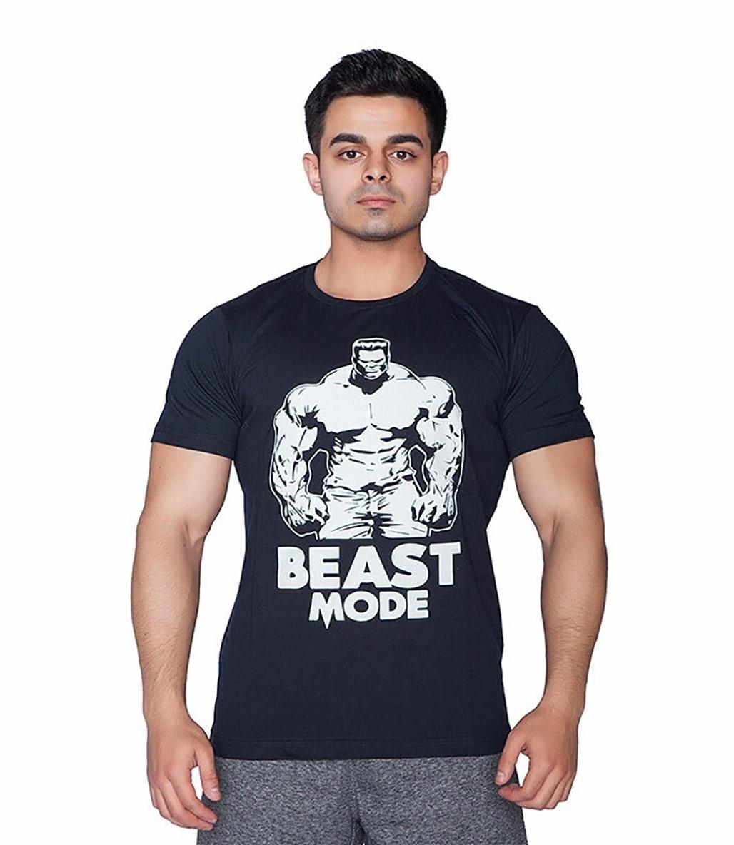 Supplementler.com Beast Mode HLK T-Shirt Lacivert