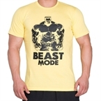 Supplementler.com Beast Mode HLK T-Shirt Sarı