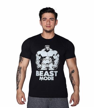 Supplementler Supplementler.com Beast Mode HLK T-Shirt Siyah