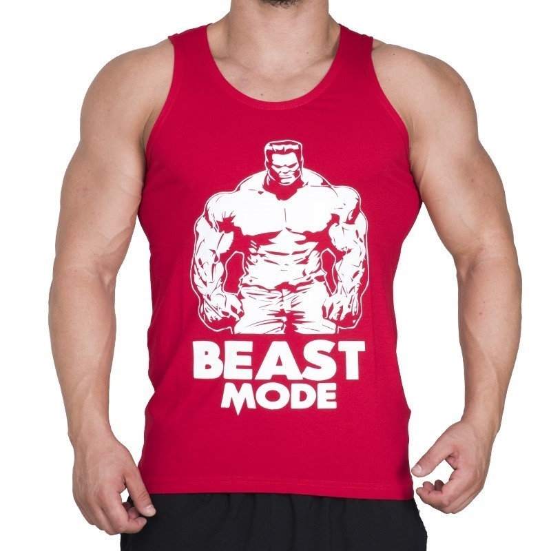 Supplementler.com Beast Mode HLK Tank Top Kırmızı