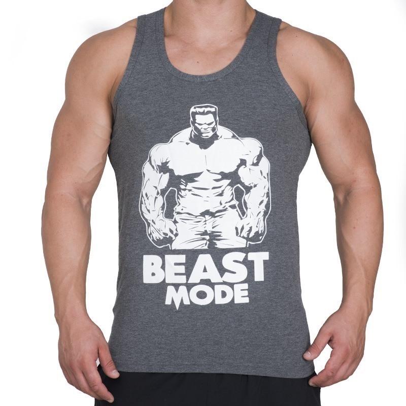 Supplementler.com Beast Mode HLK Tank Top Koyu Gri
