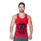 Supplementler.com Beast Mode HLK Tank Top Kırmızı