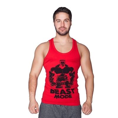 Supplementler Supplementler.com Beast Mode HLK Tank Top Kırmızı