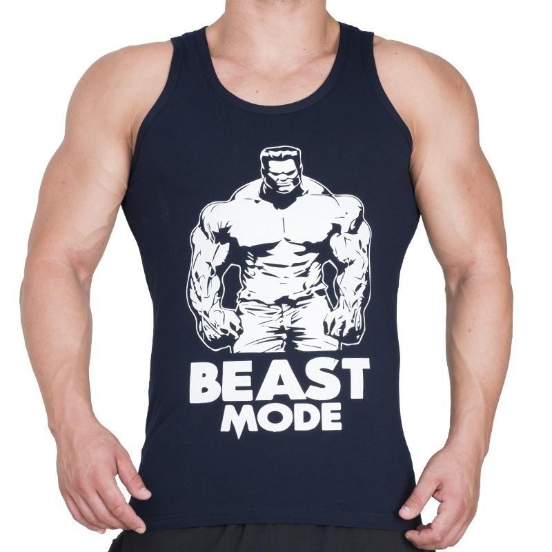 Supplementler.com Beast Mode HLK Tank Top Lacivert