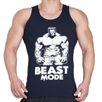 Supplementler.com Beast Mode HLK Tank Top Lacivert