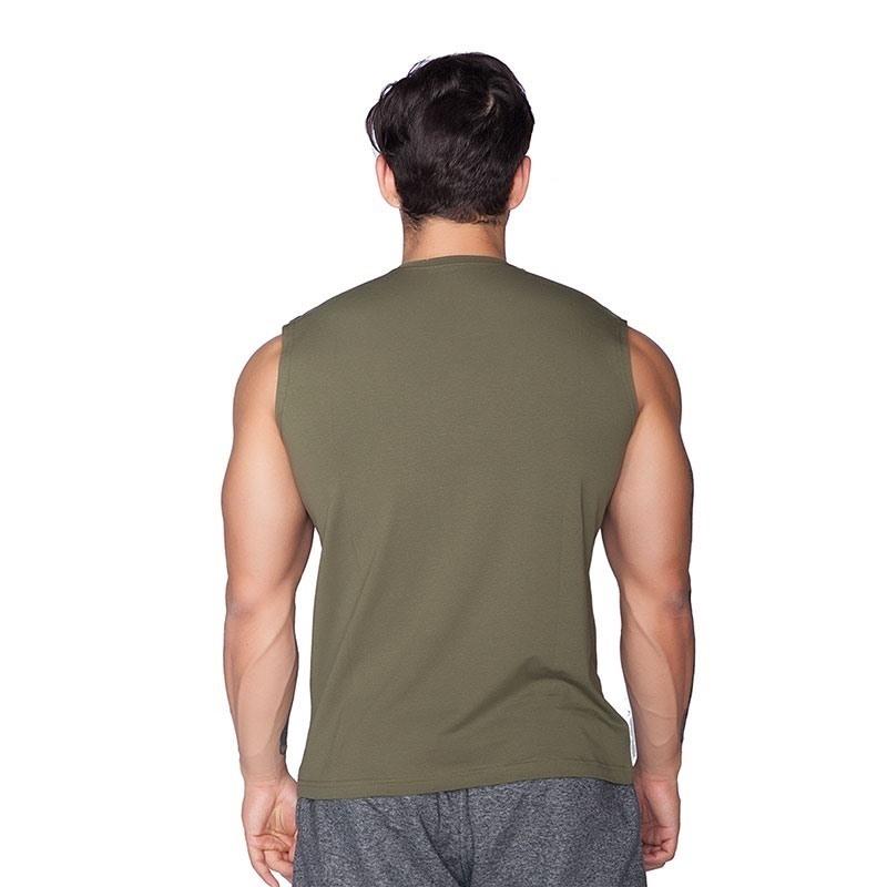 Supplementler.Com Beast Mode Kolsuz T-Shirt Yeşil