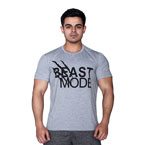 Supplementler.com Beast Mode T-Shirt Açık Gri