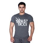 Supplementler.com Beast Mode T-shirt Koyu Gri
