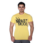 Supplementler.com Beast Mode T-Shirt Sarı Siyah