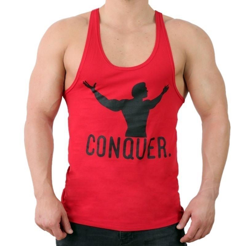Supplementler.Com Conquer Fitness Atleti Kırmızı