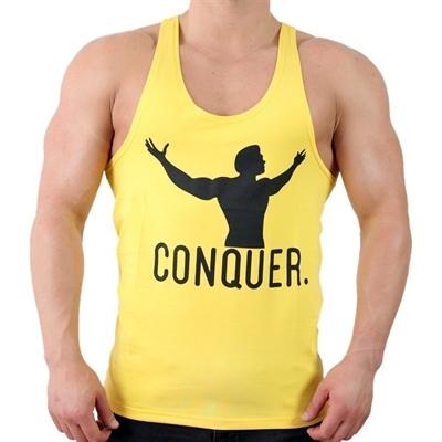 Supplementler.Com Conquer Fitness Atleti Sarı