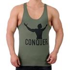 Supplementler.Com Conquer Fitness Atleti Yeşil