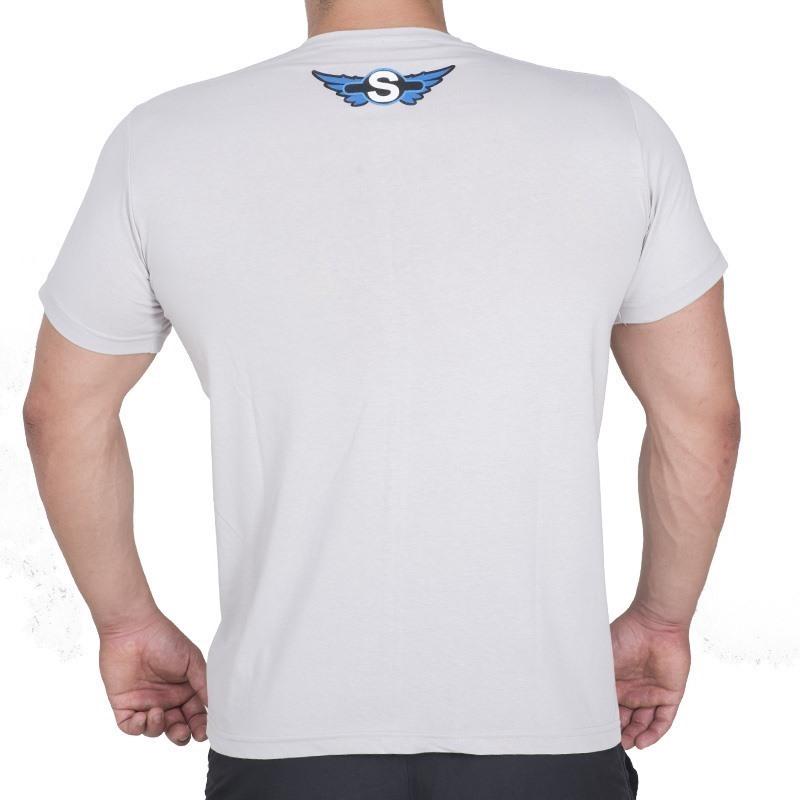 Supplementler.com Conquer T-Shirt Açık Gri
