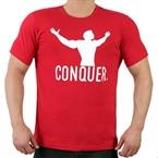 Supplementler.com Conquer T-Shirt Kırmızı
