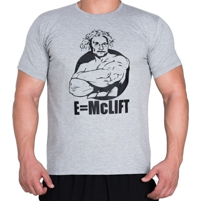 Supplementler.com E-McLift T-Shirt Açık Gri