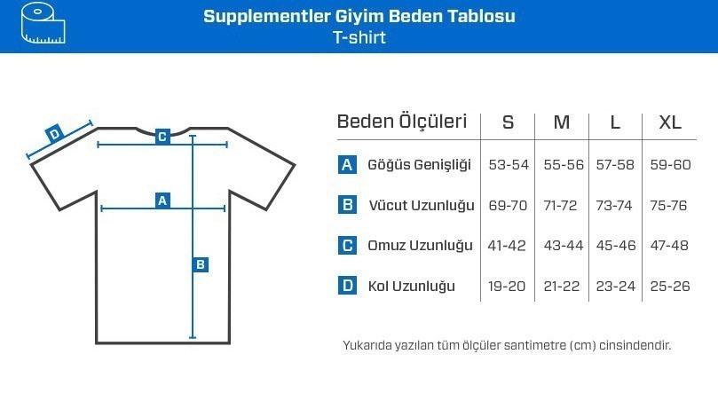 Supplementler.com E-McLift T-Shirt Açık Gri