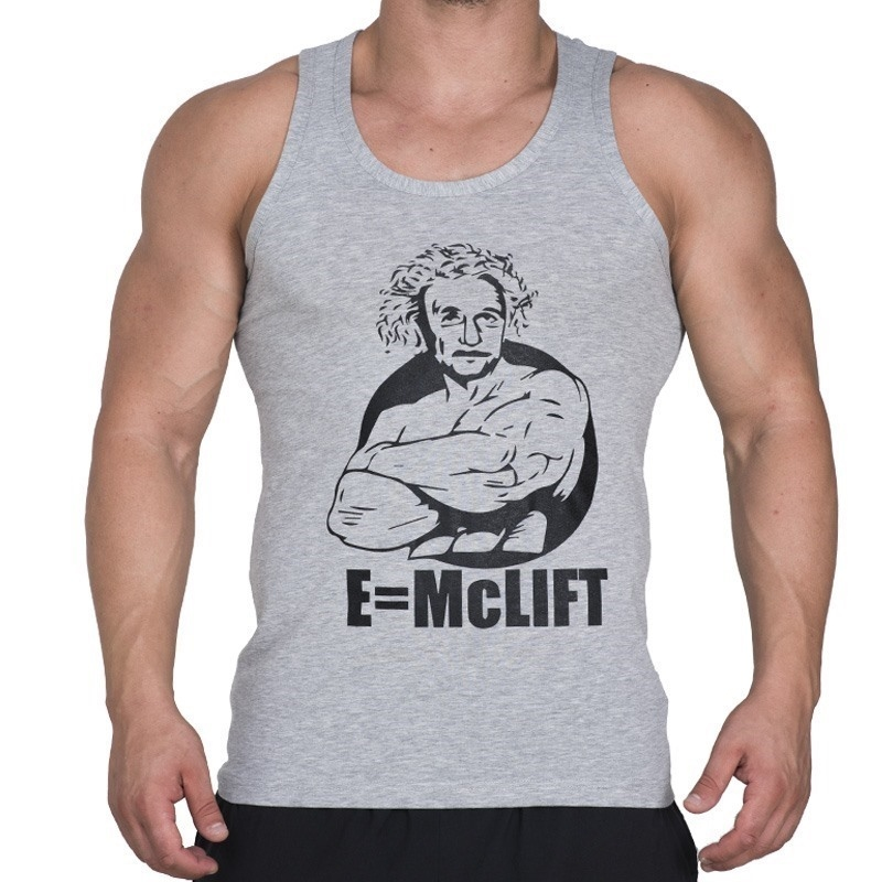 Supplementler.com E-McLift Tank Top Açık Gri
