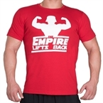 Supplementler.com Empire Lifts Back T-Shirt Kırmızı