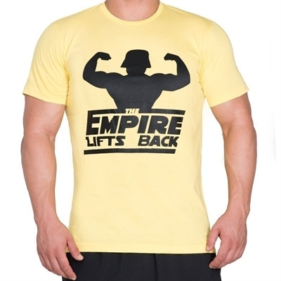 Supplementler.com Empire Lifts Back T-Shirt Sarı