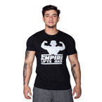 Supplementler.com Empire Lifts Back T-Shirt Siyah