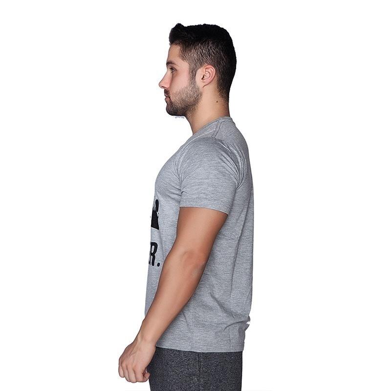 Supplementler.com Halter Conquer T-Shirt Açık Gri