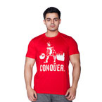 Supplementler.com Halter Conquer T-Shirt Kırmızı