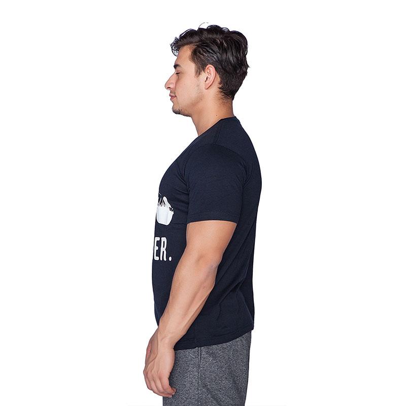 Supplementler.com Halter Conquer T-Shirt Lacivert