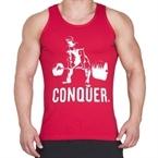 Supplementler.com Halter Conquer Tank Top Kırmızı