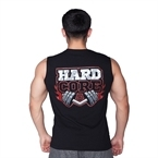 Supplementler.com Hardcore Kolsuz T-Shırt Siyah