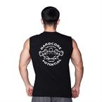 Supplementler.Com Hardcore Potential Kolsuz T-Shirt Siyah