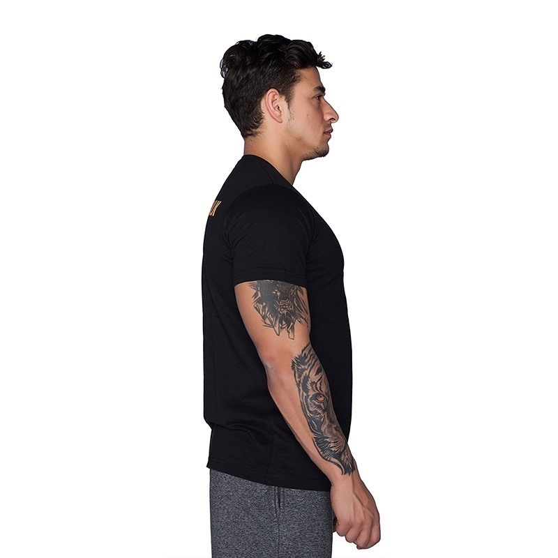 Supplementler.com I'm Not Here To Talk T-Shirt Siyah