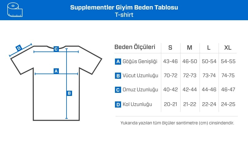 Supplementler.com Installing Muscles T-Shirt Lacivert