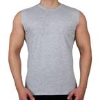 Supplementler.Com Kolsuz T-Shirt Gri