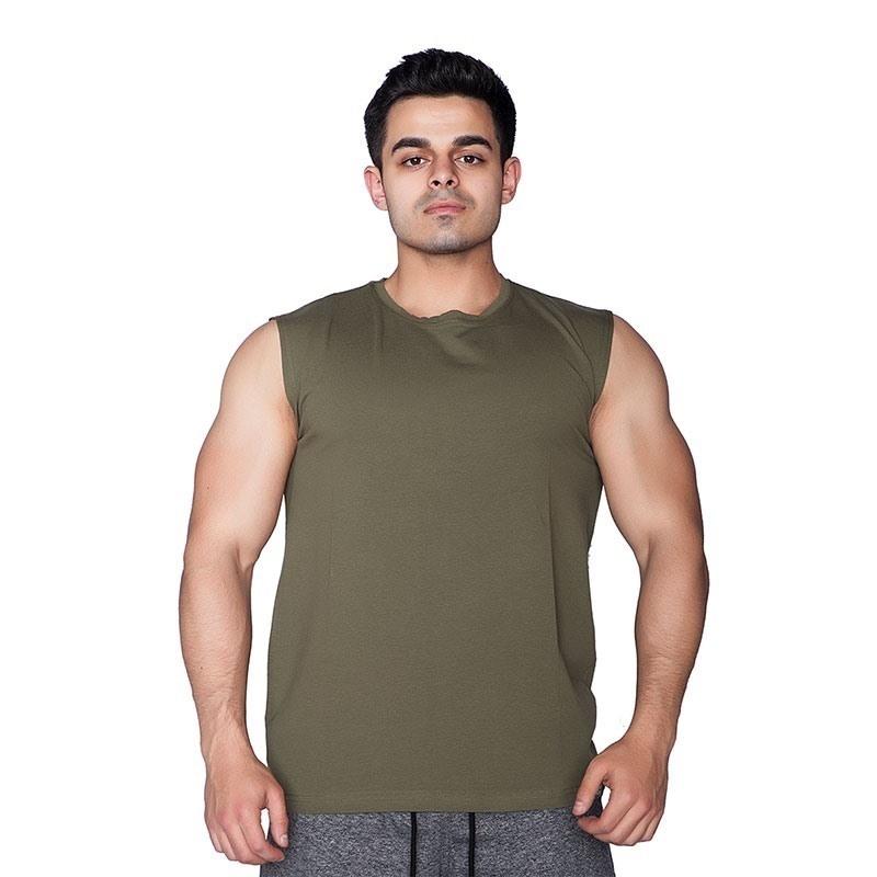 Supplementler.Com Kolsuz T-Shirt Yeşil