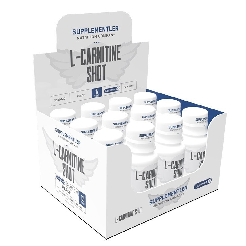 Supplementler.com L-Carnitine Shot 3000 Mg 12 Ampül