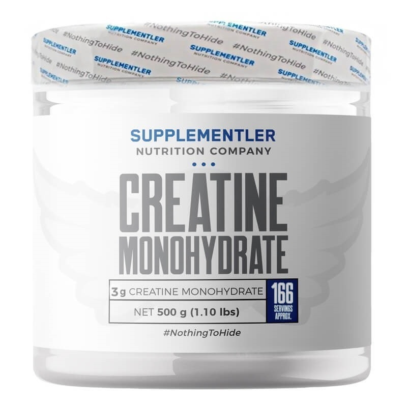 Supplementler.com Micronized Creatine 500 Gr
