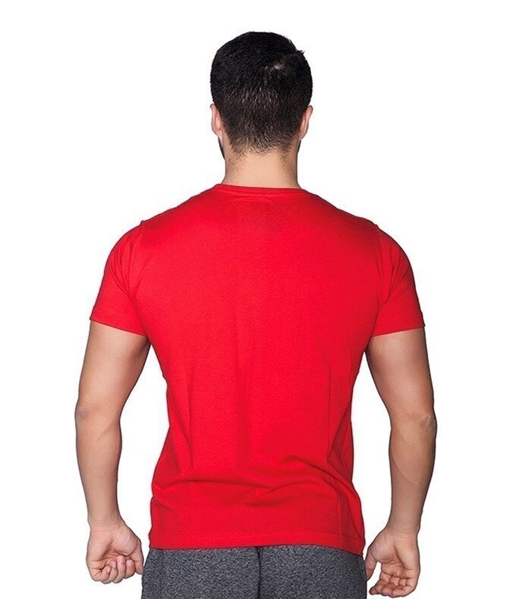 Supplementler.com Never Give Up T-Shirt Kırmızı