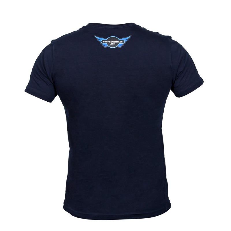 Supplementler.com One More Rep T-Shirt Lacivert