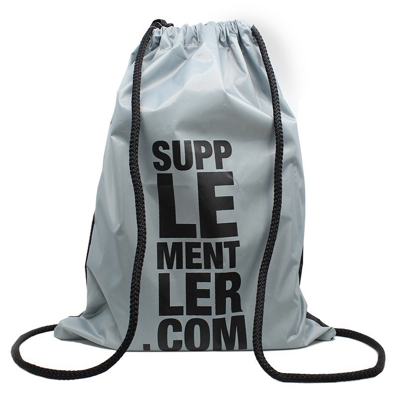 Supplementler.com İpli Çanta Siyah-Gri
