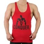 Supplementler.Com Posing Conquer Fitness Atleti Kırmızı