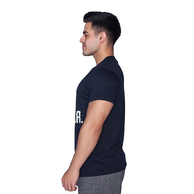 Supplementler.com Posing Conquer T-Shirt Lacivert