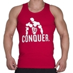 Supplementler.com Posing Conquer Tank Top Kırmızı