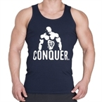 Supplementler.com Posing Conquer Tank Top Lacivert