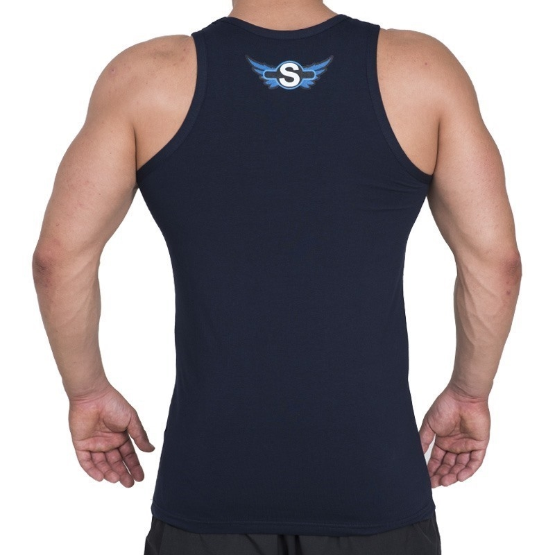 Supplementler.com Posing Conquer Tank Top Lacivert