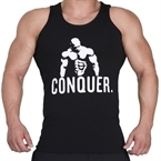 Supplementler.com Posing Conquer Tank Top Siyah