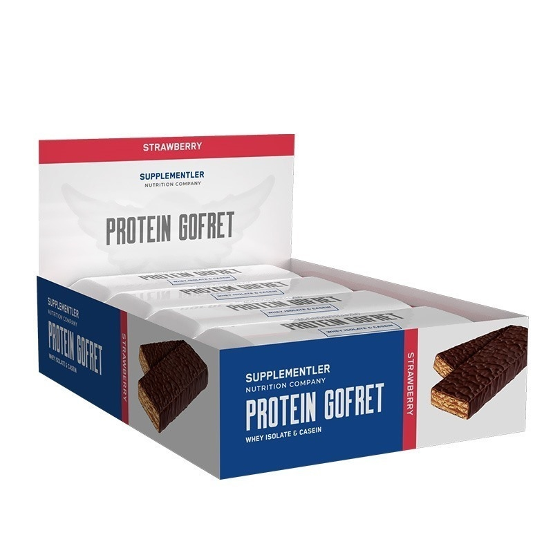 Supplementler.com Protein Gofret 40 Gr 12 Adet